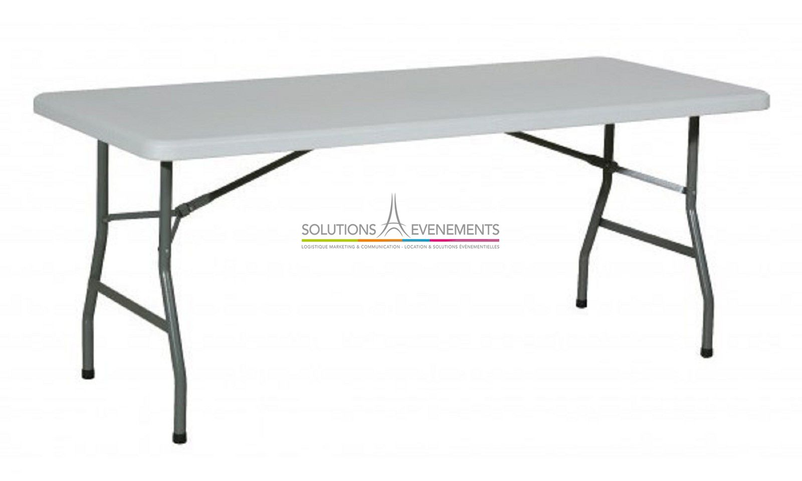 Location table rectangualire pour evenement for Table pour 8 personnes