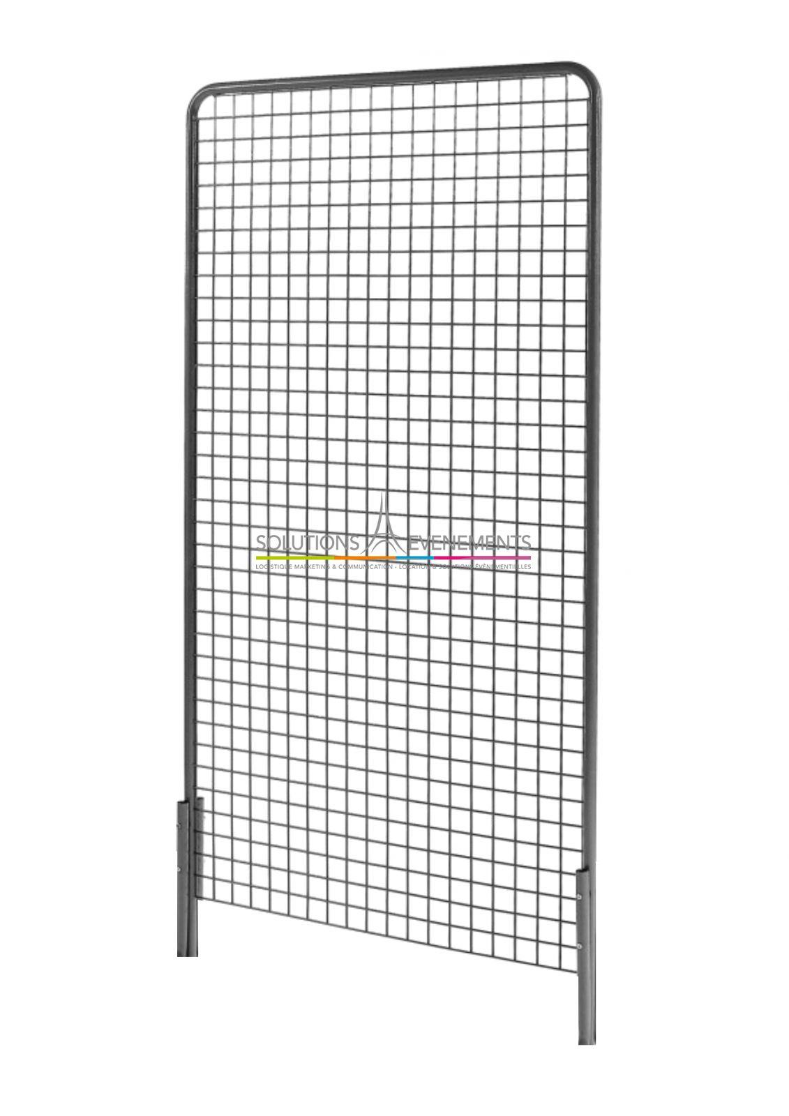location grille d 39 exposition caddie affichage. Black Bedroom Furniture Sets. Home Design Ideas