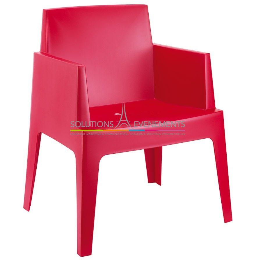 location fauteuil lounge rouge. Black Bedroom Furniture Sets. Home Design Ideas