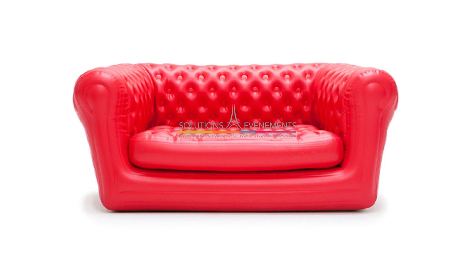 Location canape fauteuil gonflable chesterfield for Canape gonflable