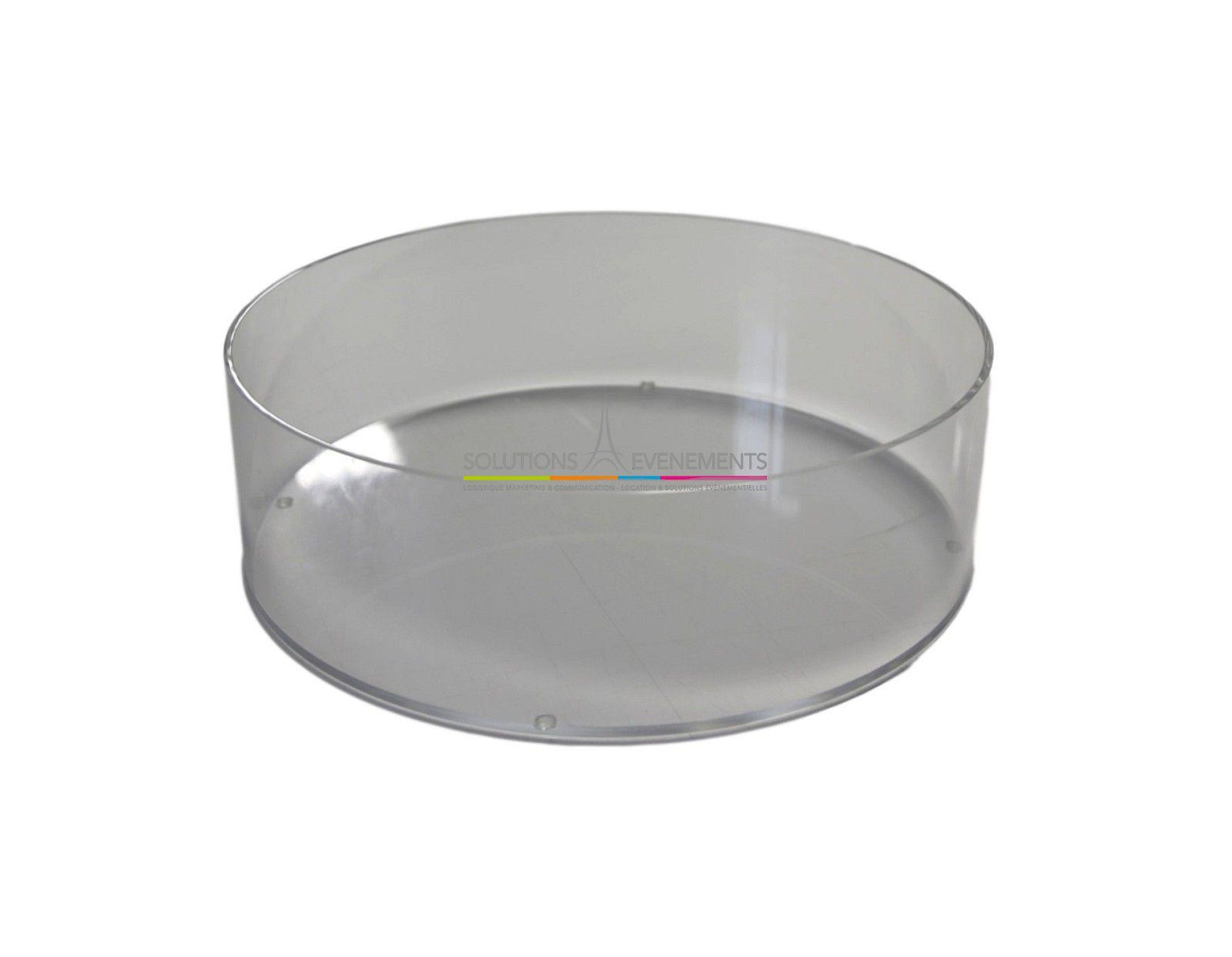 location vase plexiglas transparent 50 cm. Black Bedroom Furniture Sets. Home Design Ideas