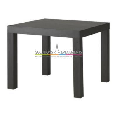 Table basse - Lack noire