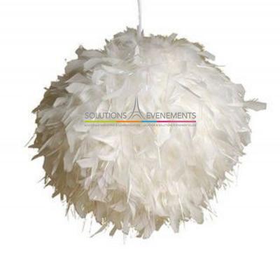Boule de plumes 50cm