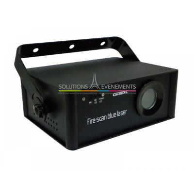 Laser - Ghost - Fire scan blue laser