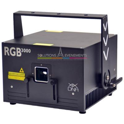 Laser RGB 3mw DNA RGB3000