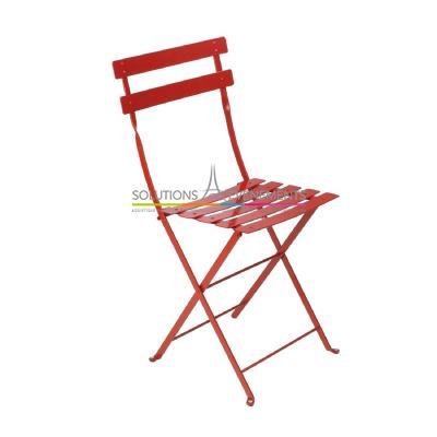 location de chaise pliante bistro fermob. Black Bedroom Furniture Sets. Home Design Ideas