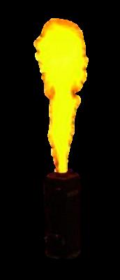 Machine à flamme de Couleurs