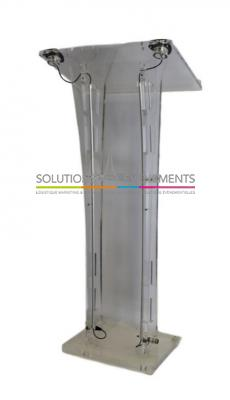 Pupitre - Plexiglass transparent