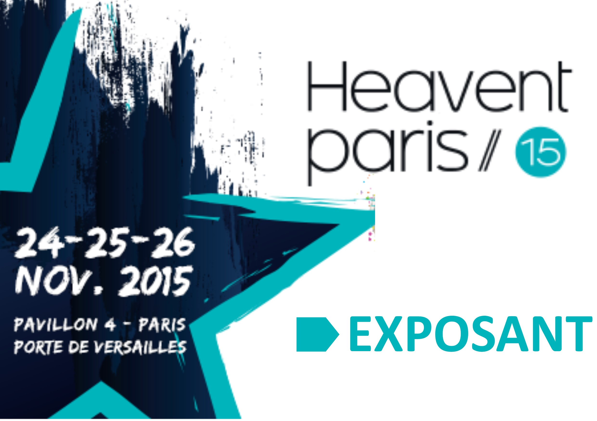 Salon Heavent 2015 Exposant