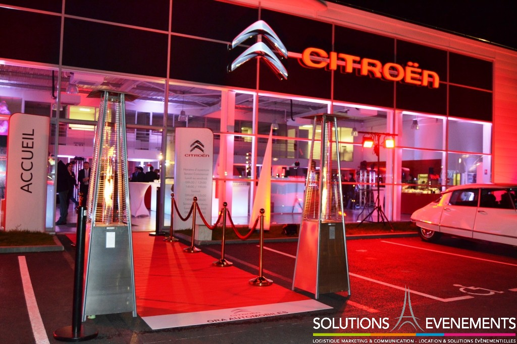 Inauguration nouvelle grande concession Citroen