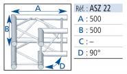 ASD - ASZ 22 angle 2D (SZ 290)