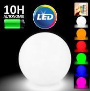 Pack 12 boules lumineuses - LED 50cm