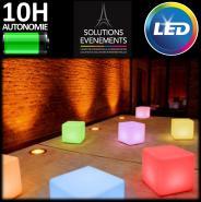 Pack 24 cubes lumineux - LED