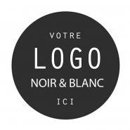 LOGO / GOBO NOIR ET BLANC