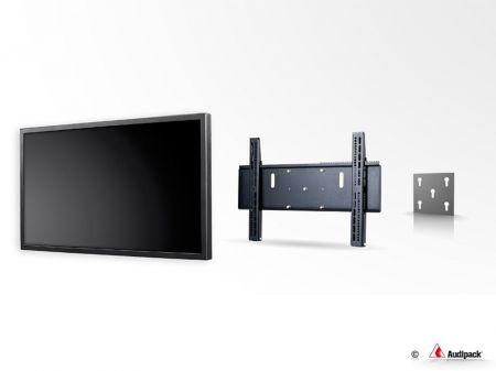 Platine universelle slim pour écran plat - Audipack - UFPRO-V400B