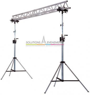 Portique en structure ASD H: 3M - L: 4M