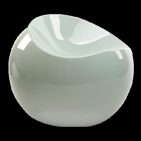 Pouf Glossy blanc