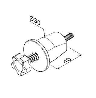 Quickfix LS - M6/D30 x 70 A