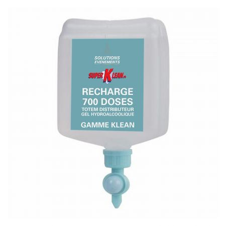 Recharge 700 doses borne Gel hydro alcoolique