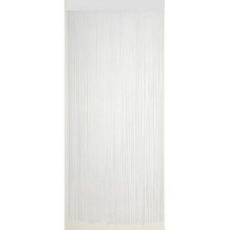 Rideaux de fil Blanc