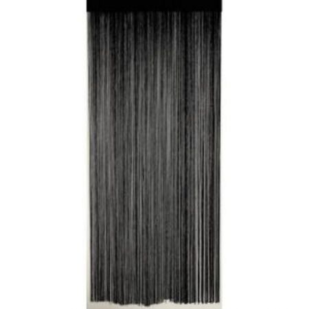 Rideaux de fil Noir