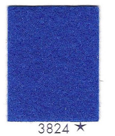 Rouleau moquette bleue roi 3824