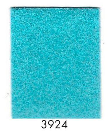 Rouleau moquette turquoise 3924