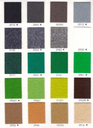 Rouleau moquette verte claire 39661