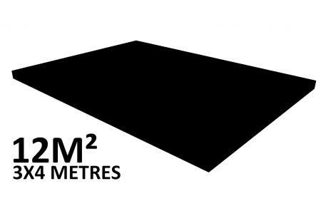 Scene 12m2 hauteur 20cm habillée