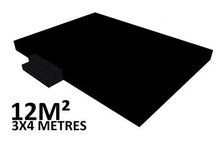 Scene 12m2 hauteur 40cm habillée