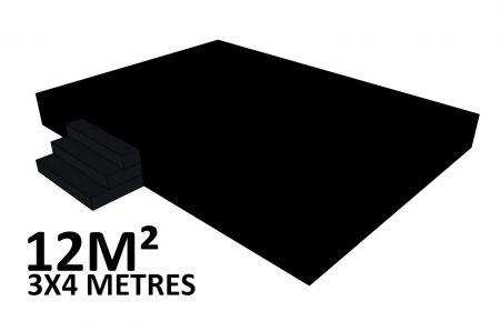 Scene 12m2 hauteur 60cm habillée