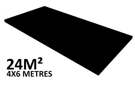 Scene 24m2 hauteur 20cm habillée