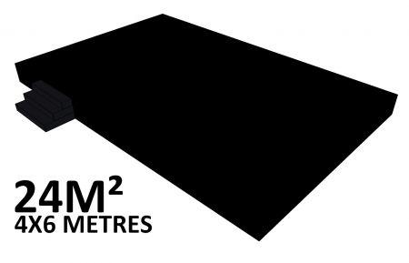 Scene 24m2 hauteur 60cm habillée