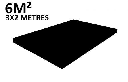 Scene 6m2 hauteur 20cm habillée