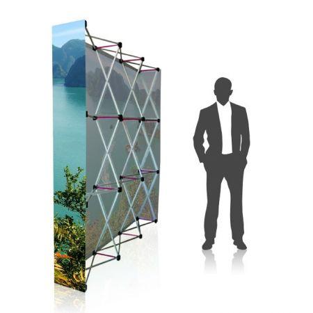 Stand parapluie 2x3 droit