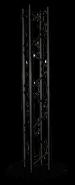 Structure en Totem  2M00 noir