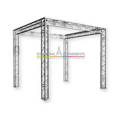 Structure sur 4 pieds (Grill) 2M50X5MX5M