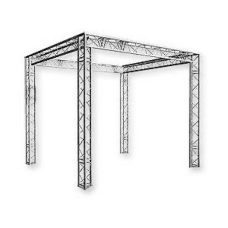 Structure sur 4 pieds (Grill) 3M50X7MX7M