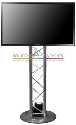 Support écran - Structure aluminium