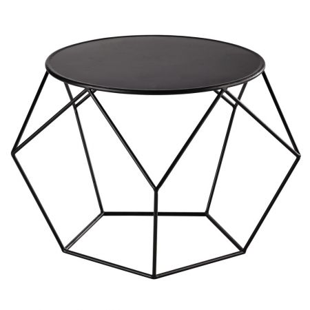 Table basse Loft Noire