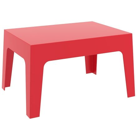 Table basse - Lounge rouge