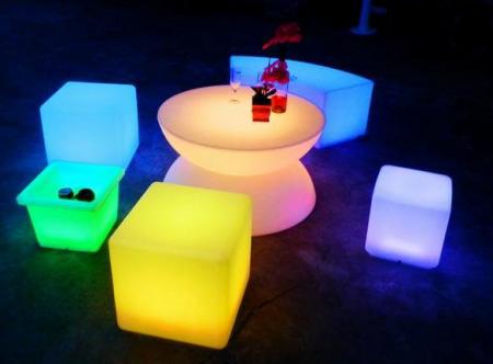 Table basse lumineuse - LED