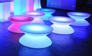 Table basse lumineuse - LED