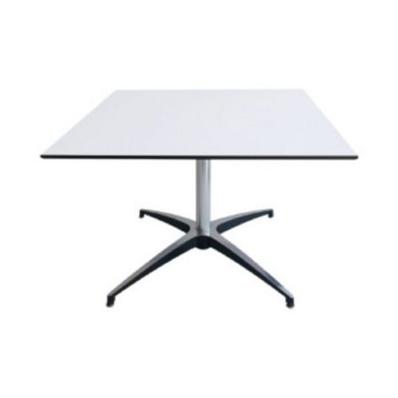 Table basse Modulx carre blanche