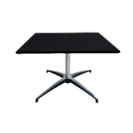 Table basse Modulx carre noire
