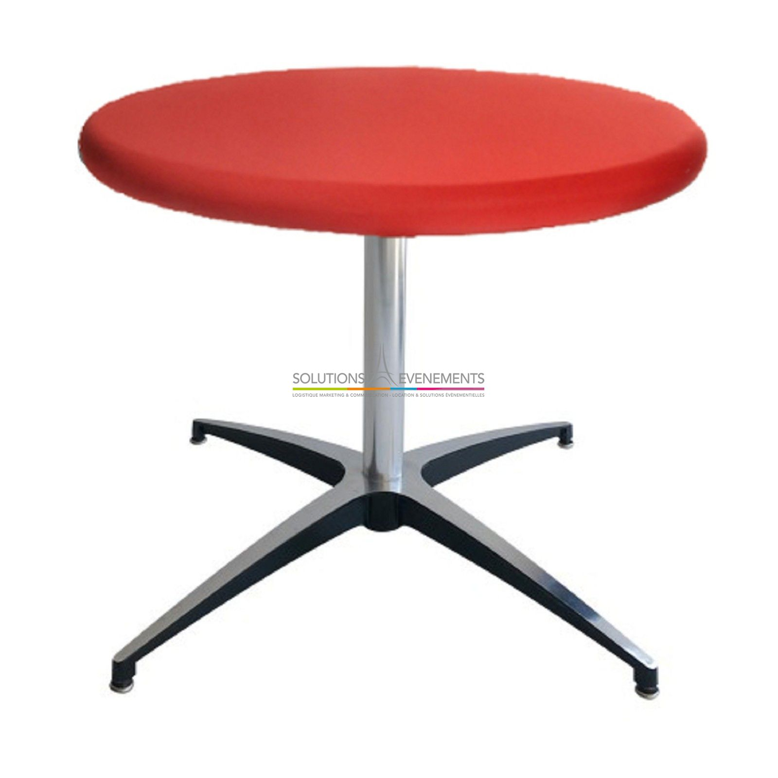 location table basse rouge solutions evenements. Black Bedroom Furniture Sets. Home Design Ideas