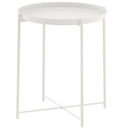 Table basse scandinave Malmo blanche