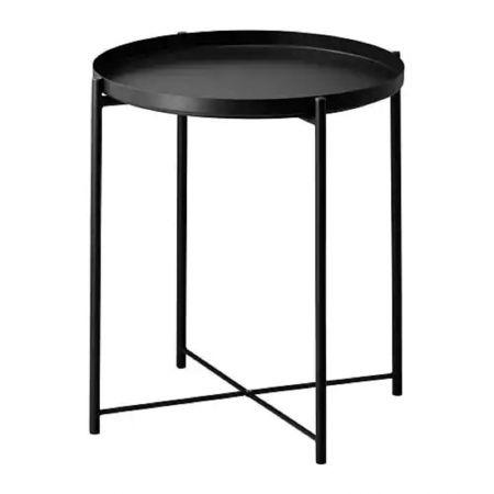 Table basse scandinave Malmo noire