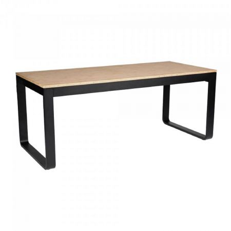 Table Flow 180cm - plateau bois