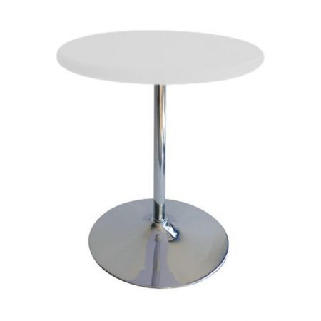 Table Guéridon Modulo blanc
